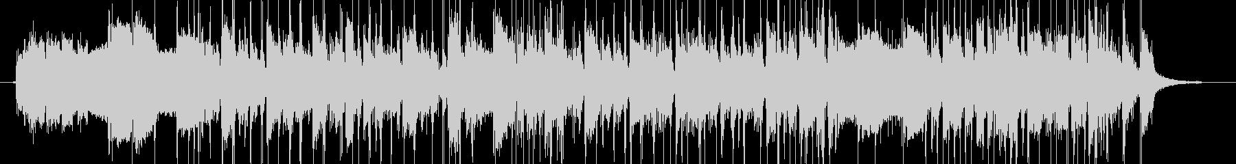 ロックベースサウンドの転換ジングルの未再生の波形