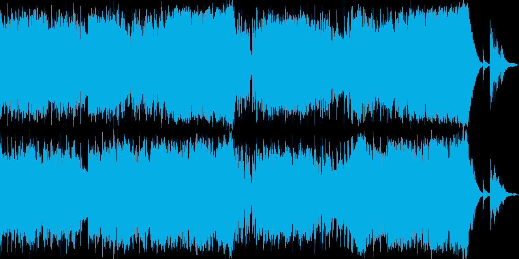切ないダブステップ+ストリングス「荒廃」の再生済みの波形