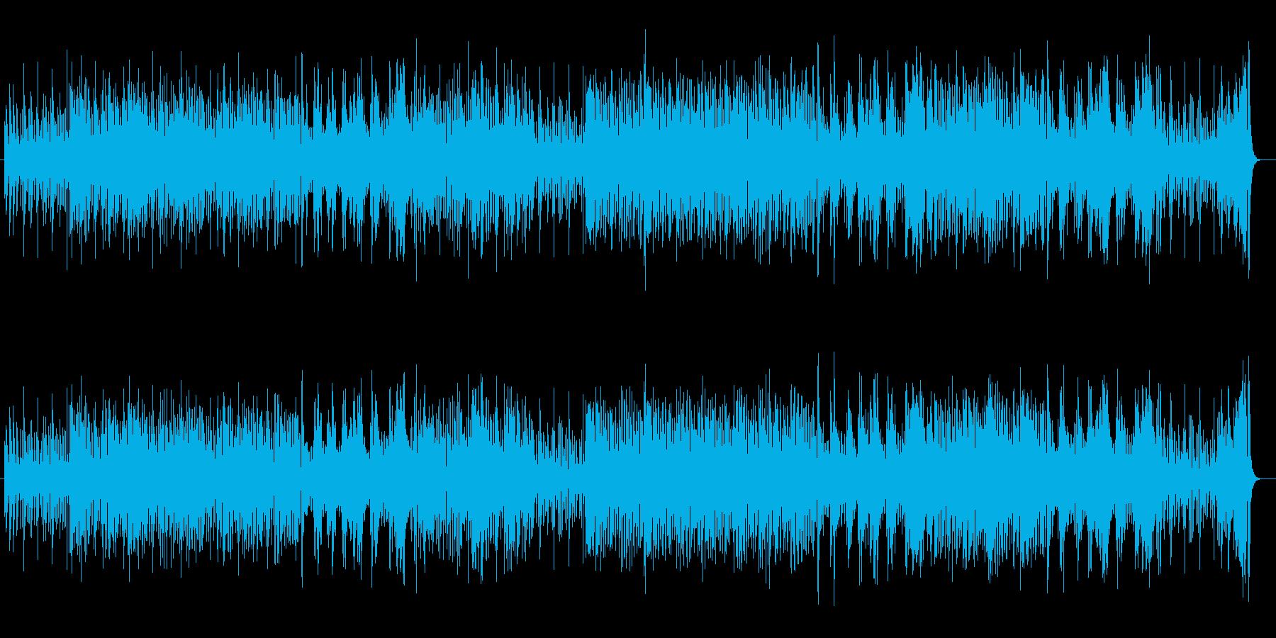 ピッコロがほのぼのとしたゲーム音楽の再生済みの波形