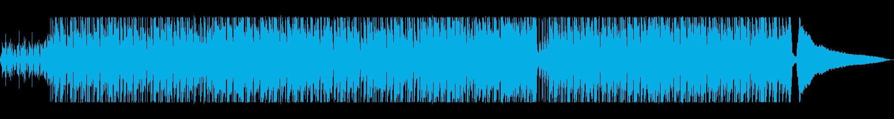 軽快で明るいシンセポップサウンドの再生済みの波形