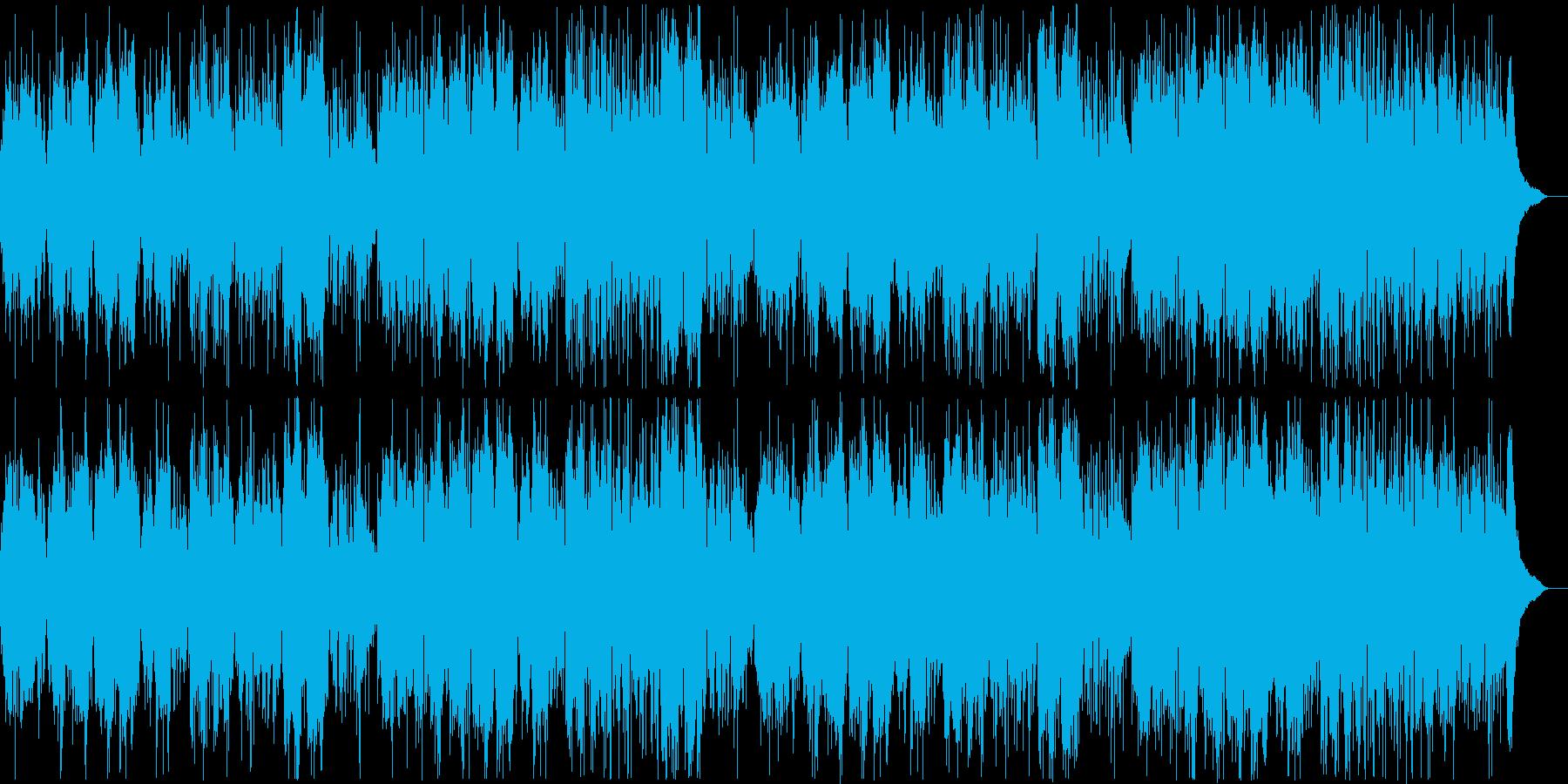 中国風BGMですの再生済みの波形