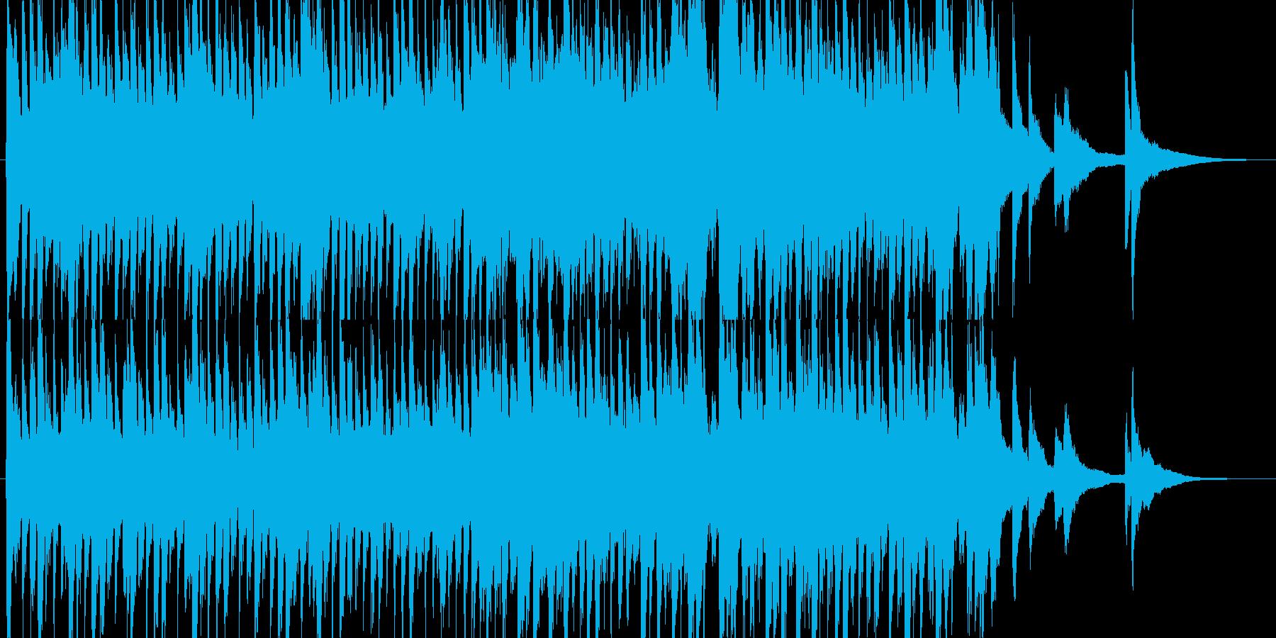 さわやかな朝をイメージしたピアノ曲の再生済みの波形