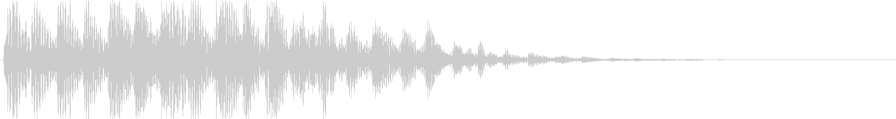 【ポコッ】ファミコン系 敵を倒す音_05の未再生の波形