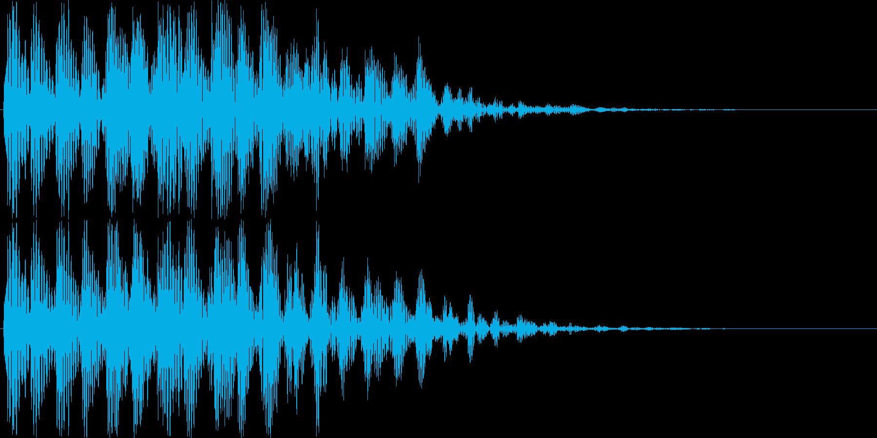 【ポコッ】ファミコン系 敵を倒す音_05の再生済みの波形