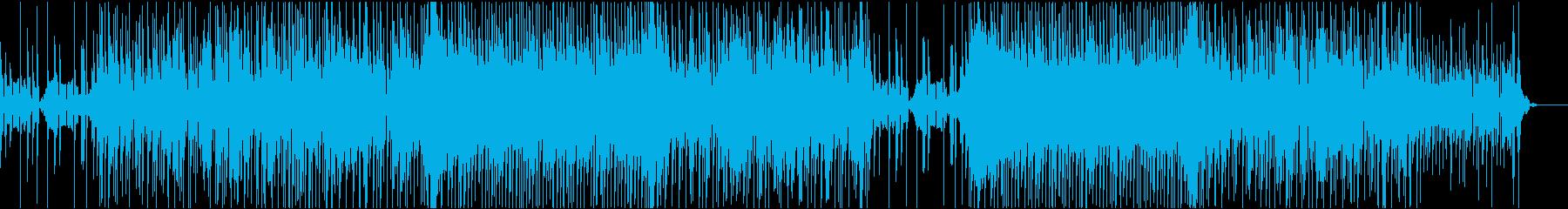 戦闘BGM ノれるファンクでバトルモードの再生済みの波形
