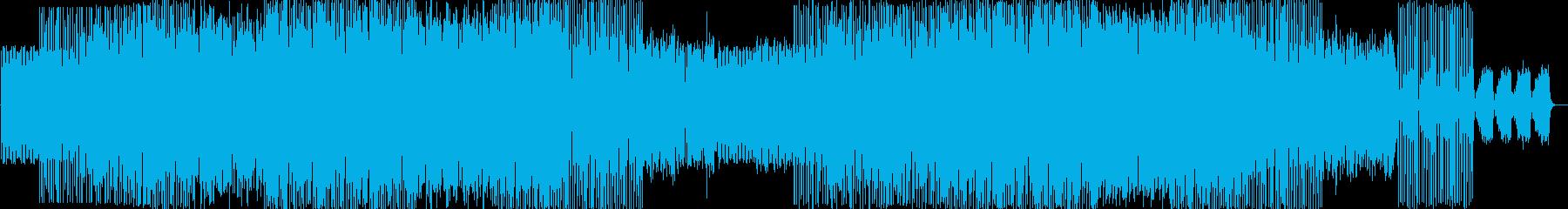 ロカビリーをイメージした曲です。の再生済みの波形