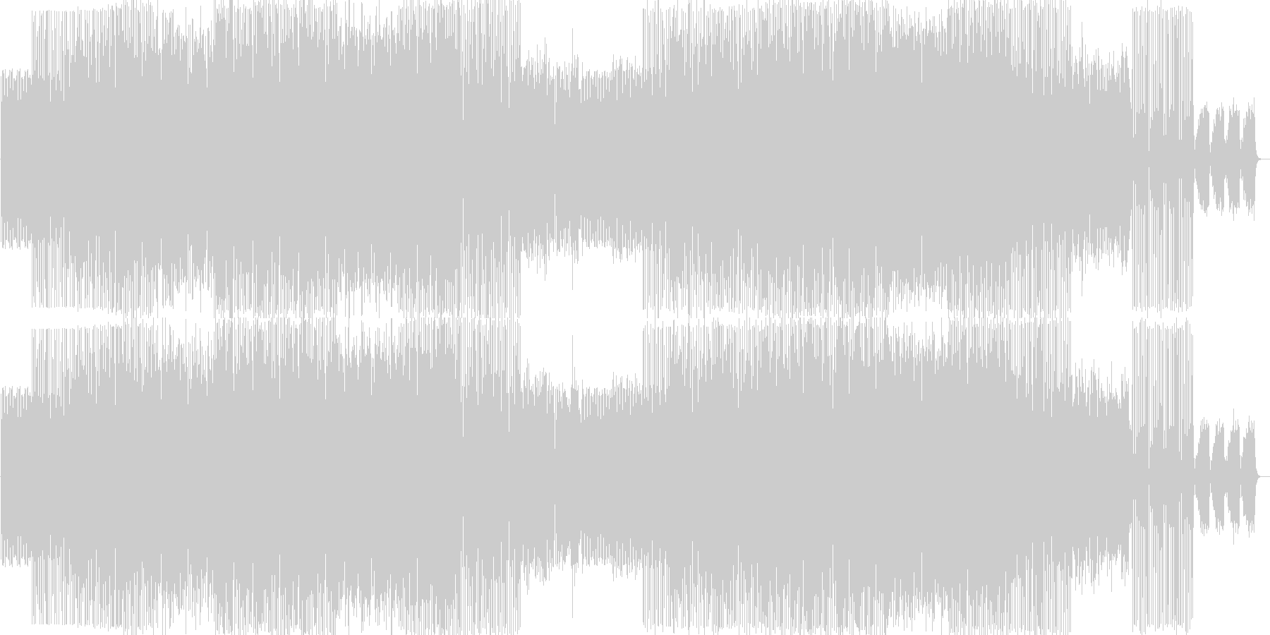 ロカビリーをイメージした曲です。の未再生の波形