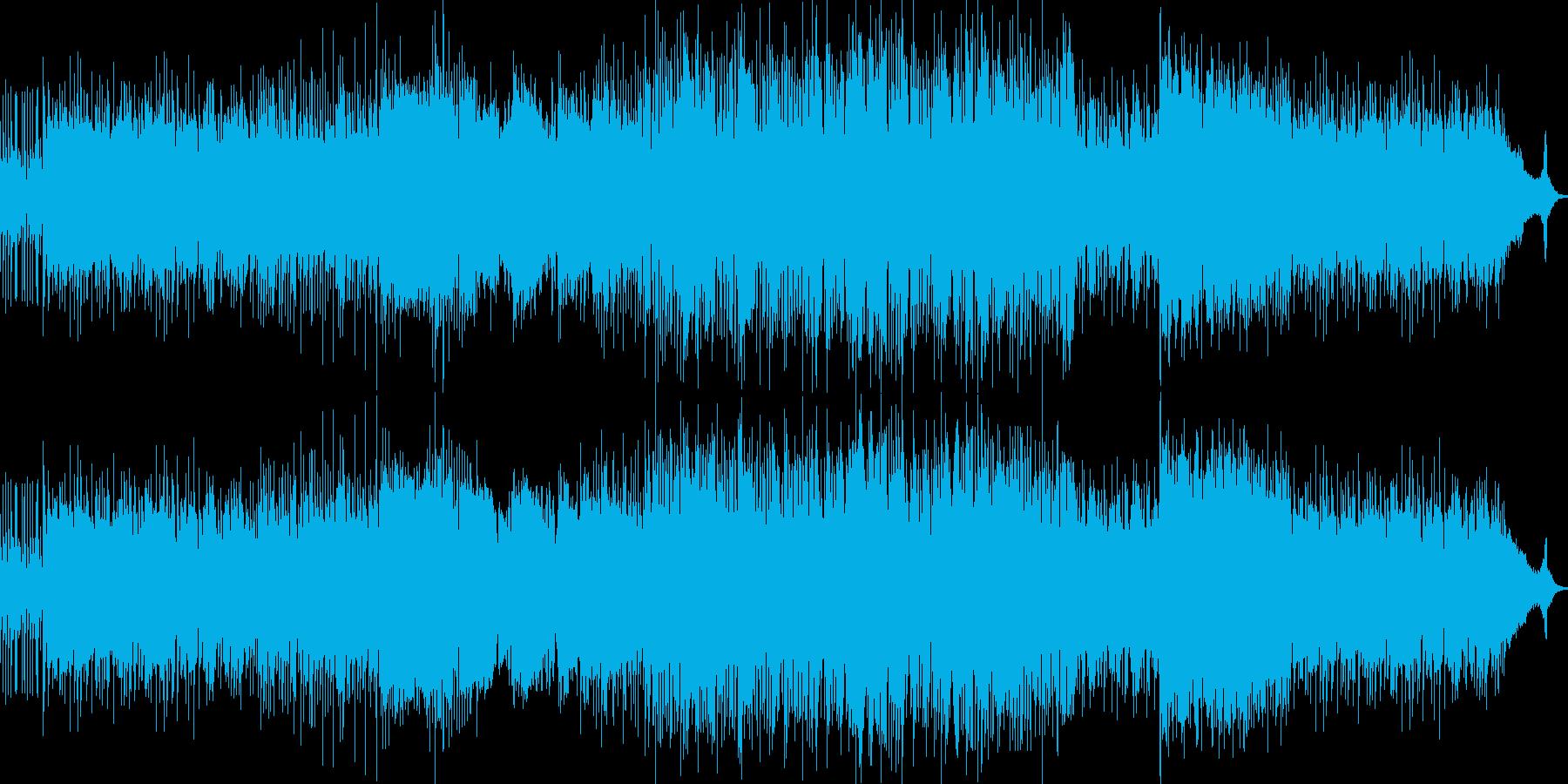 ドラマチックでヘヴィなサントラ用ロックの再生済みの波形