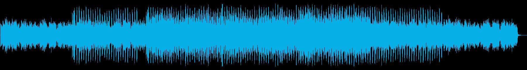 映像に最適なかわいいエレクトロポップの再生済みの波形