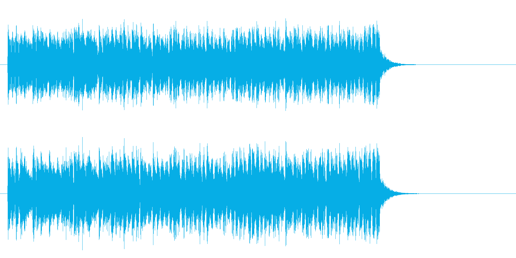 元気なヒューマンポップス(イントロ)の再生済みの波形