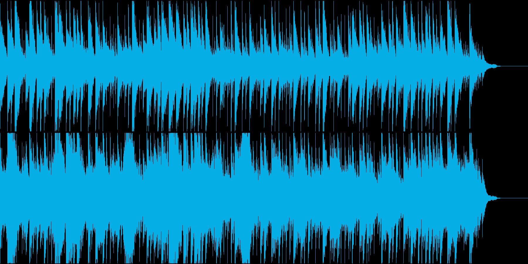 のびのびとしたほのぼの大空の再生済みの波形
