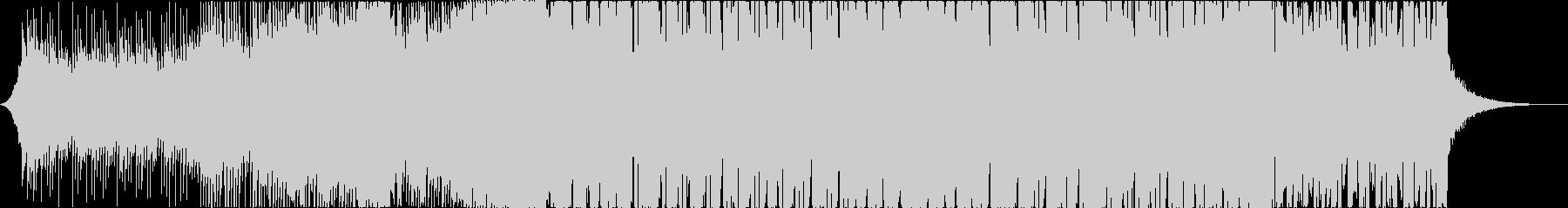 クール系エレクトロハウスの未再生の波形