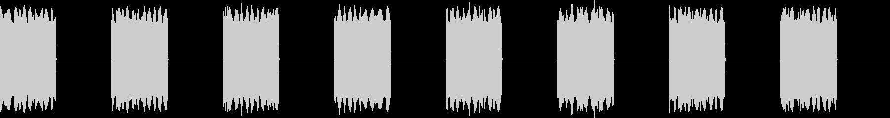 ピピピ...。携帯電話の着信音D(長め)の未再生の波形