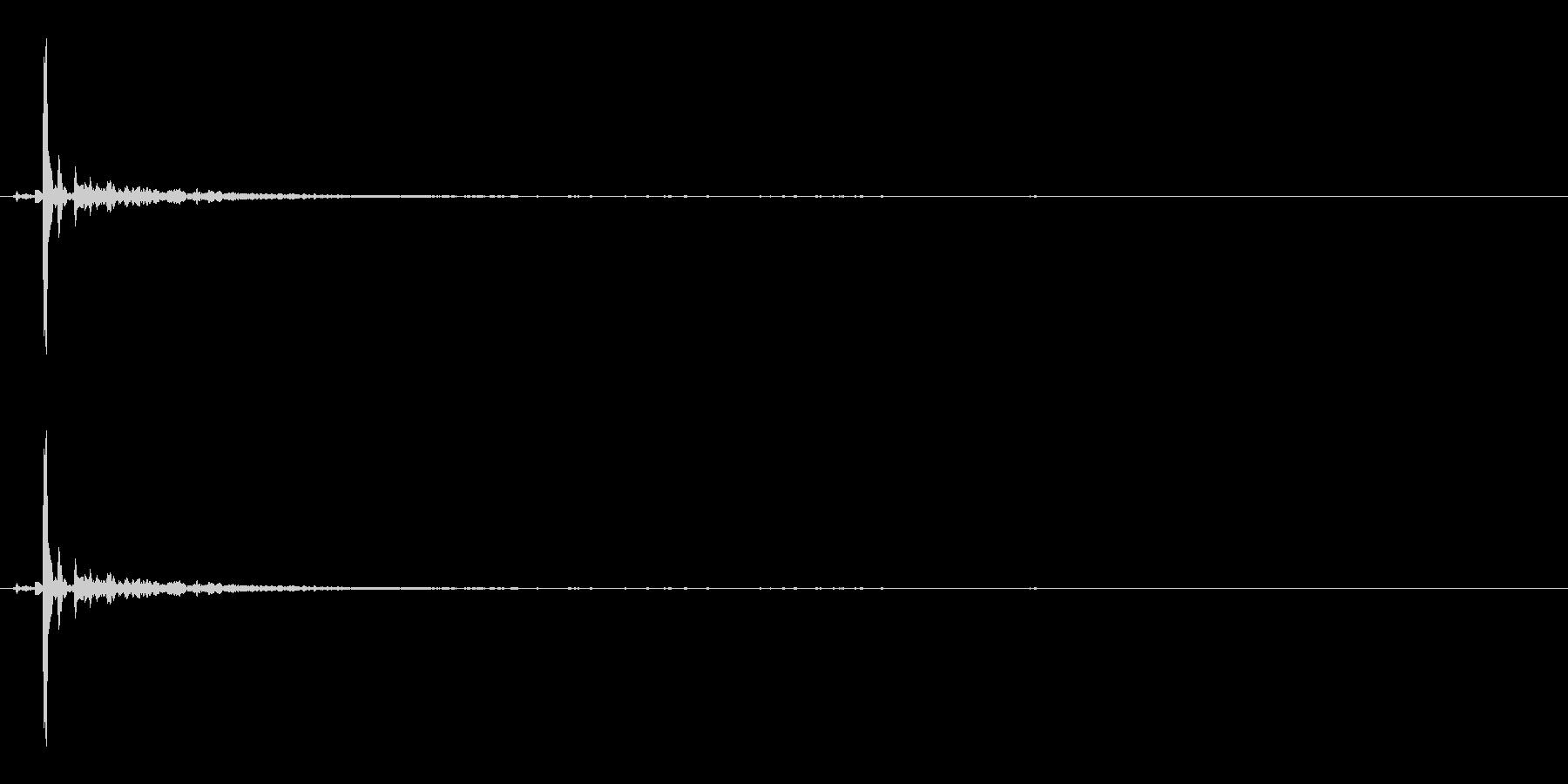 コキーンの未再生の波形
