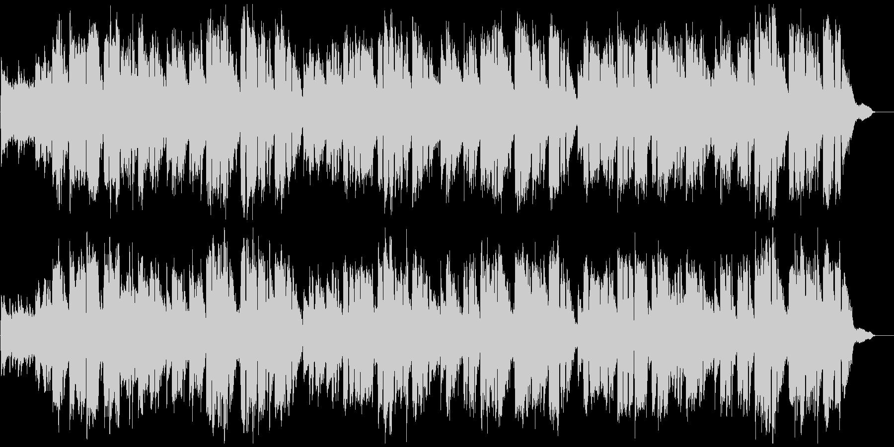「ふるさと」ピアノ伴奏と女性ボーカルの未再生の波形