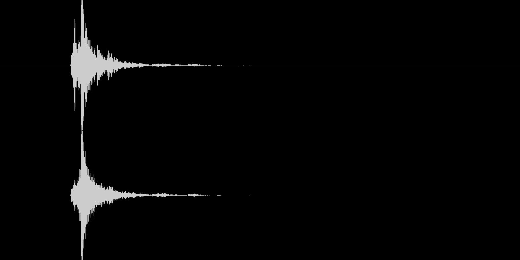 ホイッスル 鈴 (しゃりーん)の未再生の波形