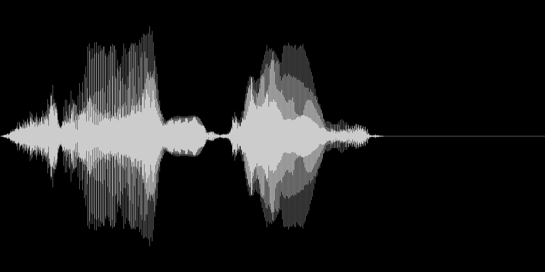 3,000の未再生の波形