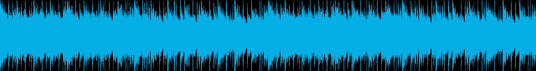 RPGのメニュー画面などに使えるループの再生済みの波形