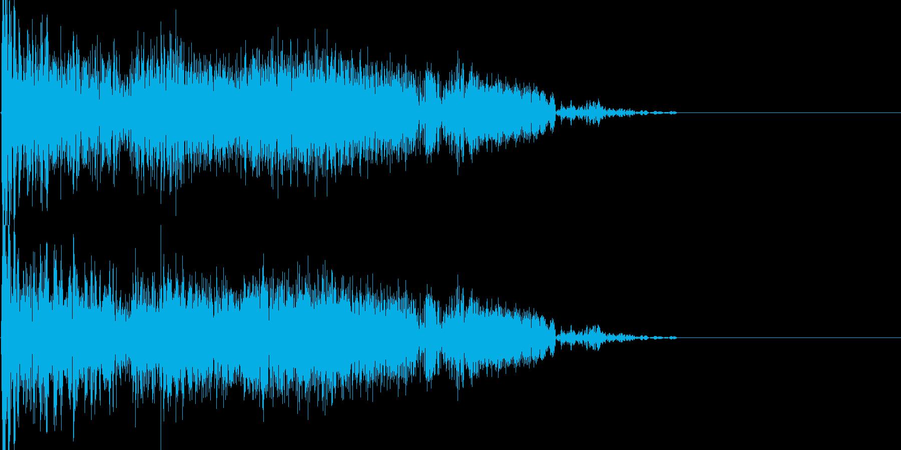 刺す - ブシュッの再生済みの波形