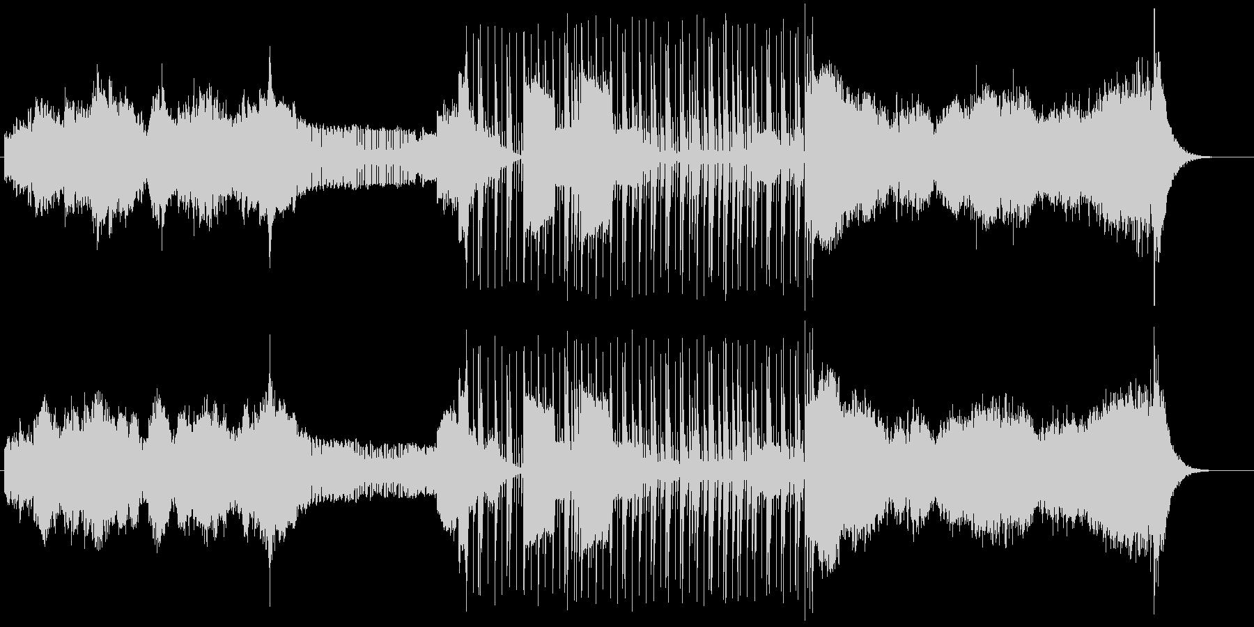 ふんわり感溢れるインストバラードの未再生の波形