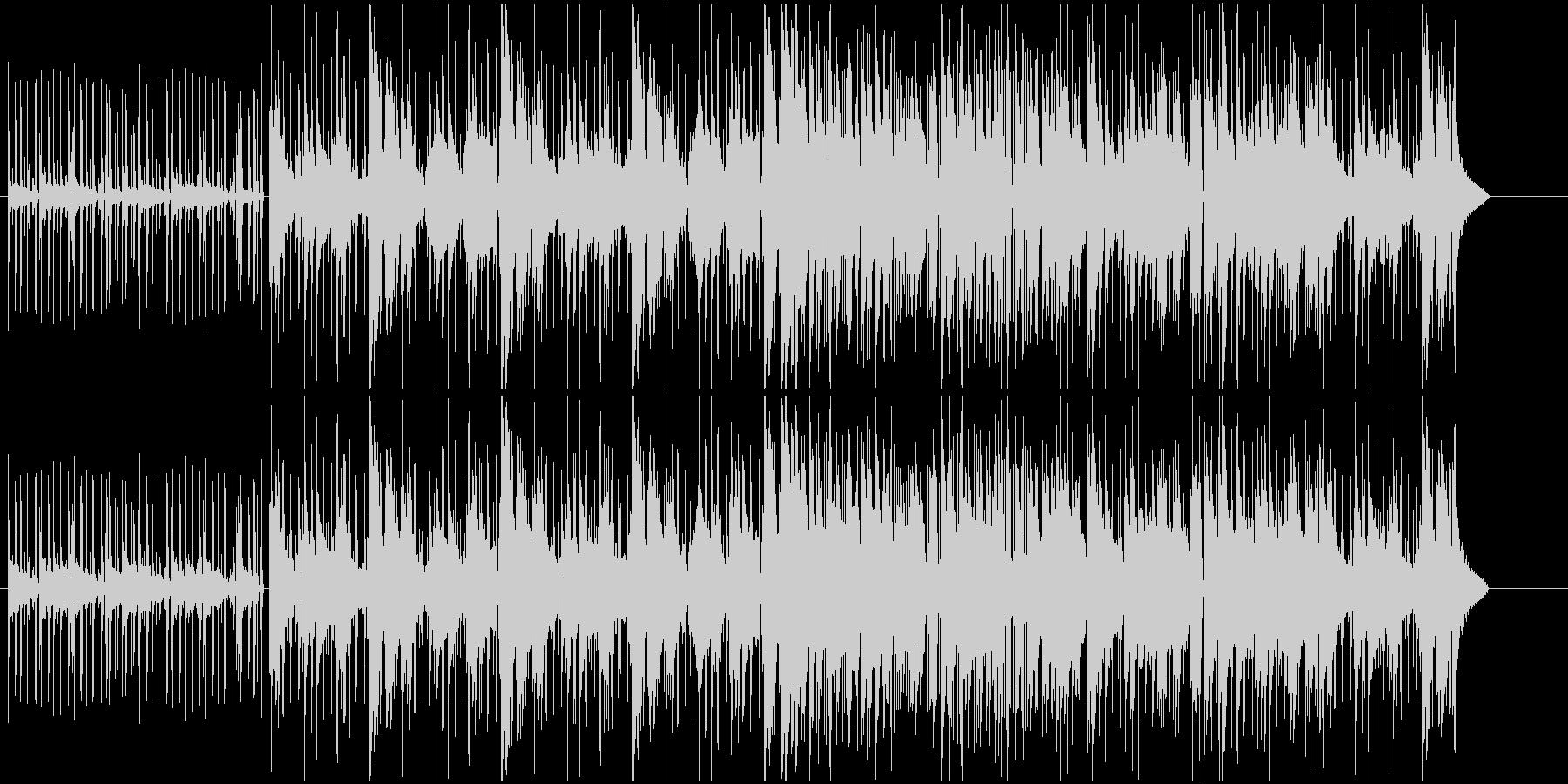 不思議な雰囲気のJazz,Funkの未再生の波形