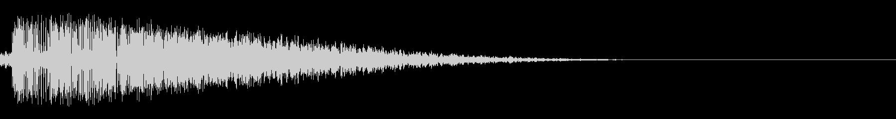 キーン(刀/剣/決定音/アプリ)の未再生の波形