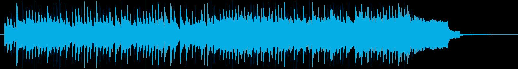 可愛い系日常・学園アニメの次回予告の再生済みの波形