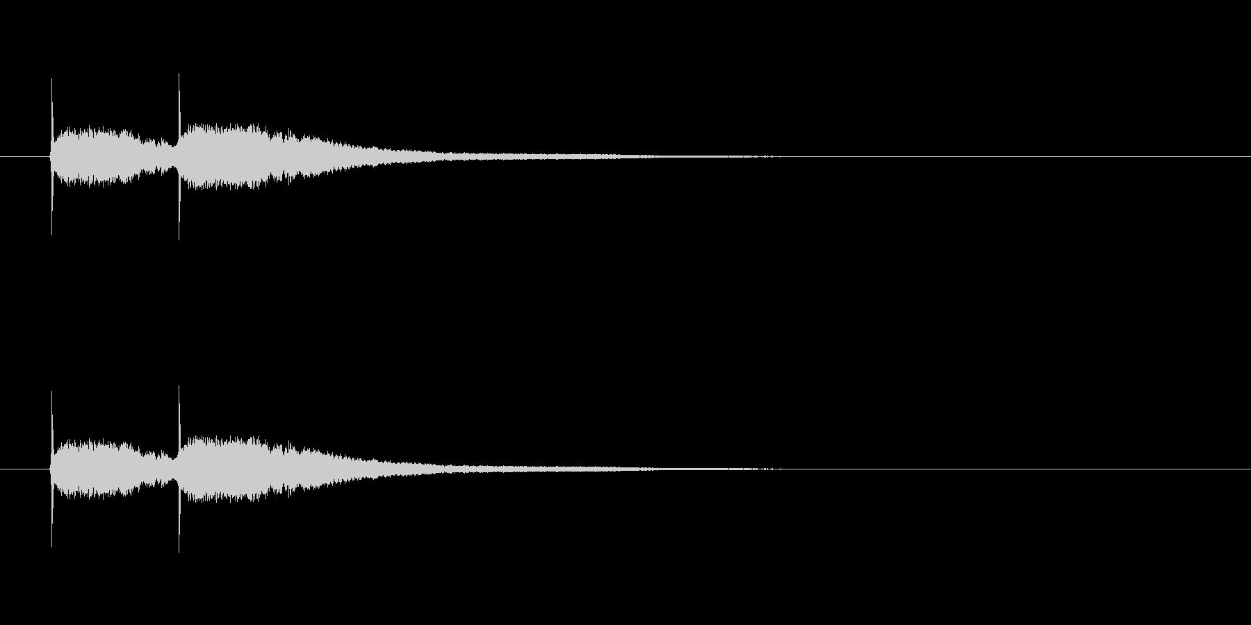 【競技用ゴング01-2】の未再生の波形