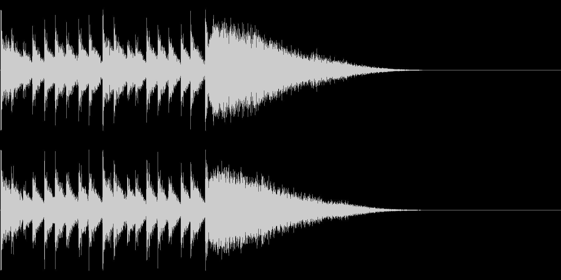 ダラララララララジャン(結果発表)の未再生の波形