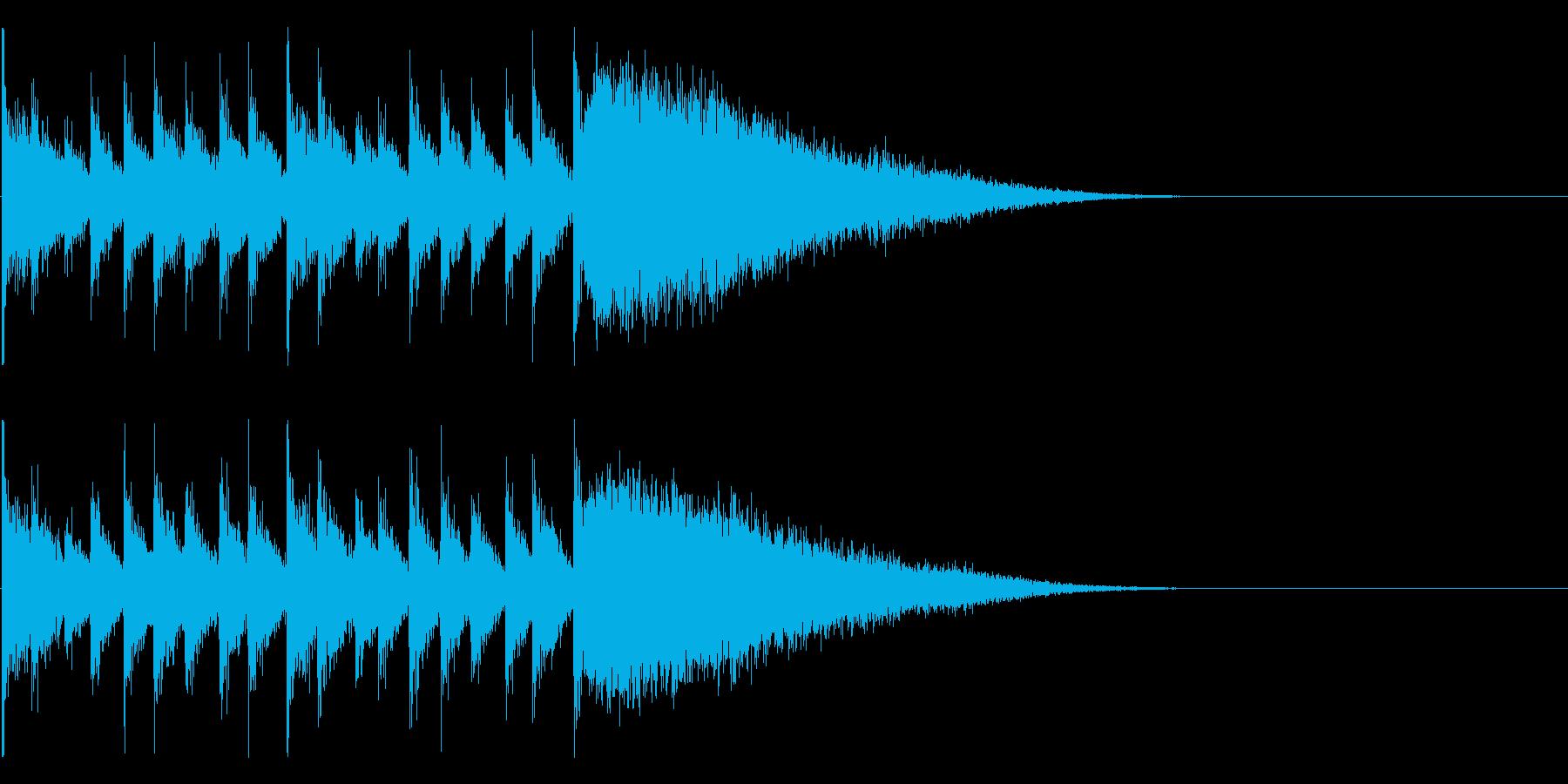 ダラララララララジャン(結果発表)の再生済みの波形