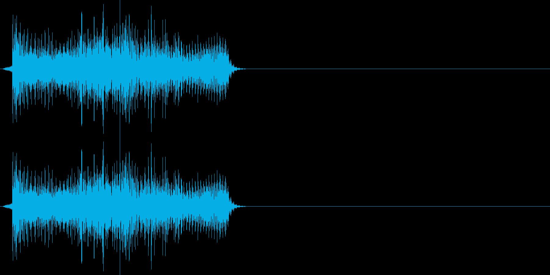 デロロン(決定、ゲーム、アプリ)の再生済みの波形