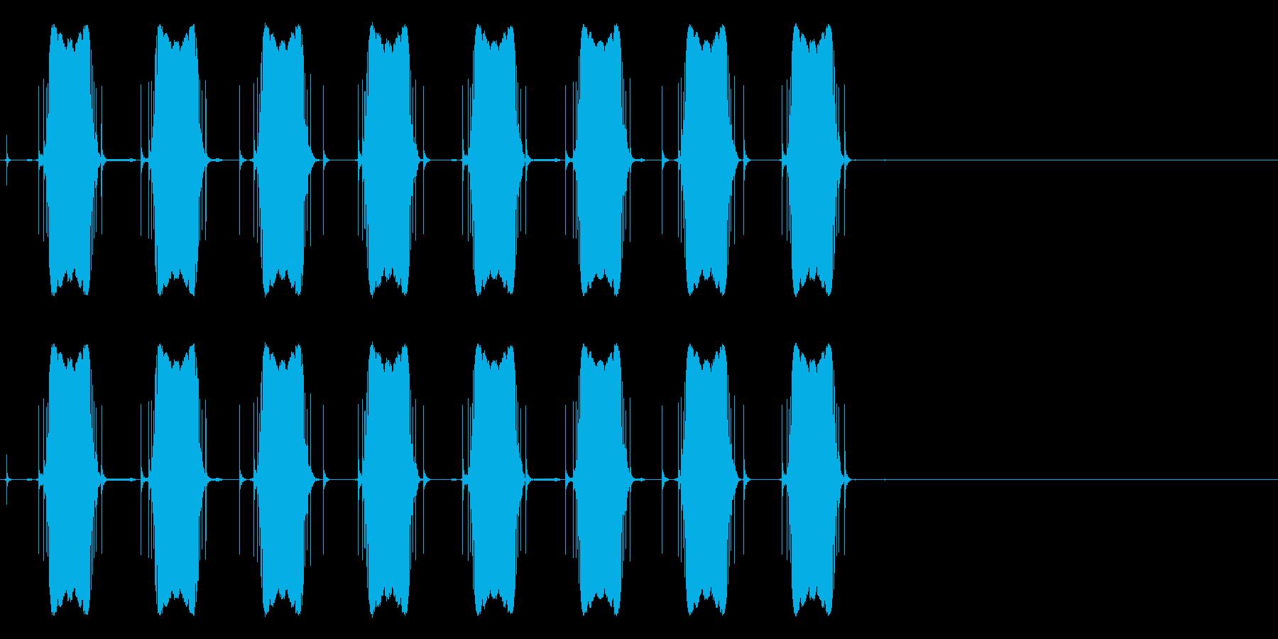 ウィンウィンウィンウィン(警告音)の再生済みの波形