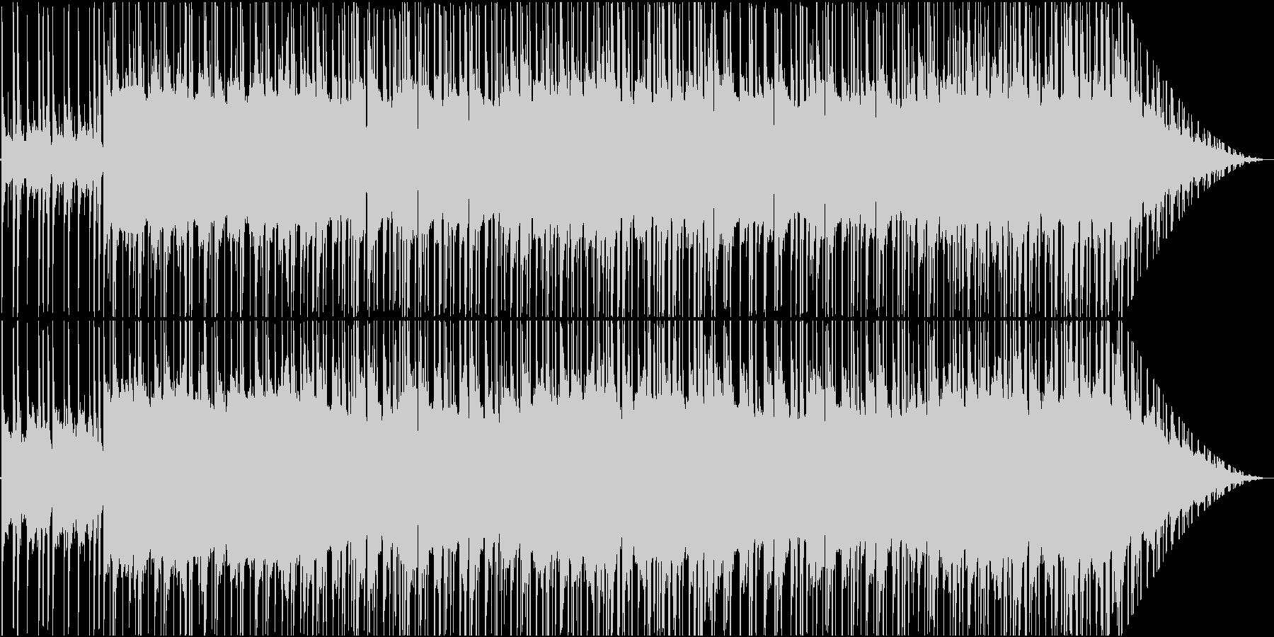 穏やかで落ち着いたR&Bの未再生の波形