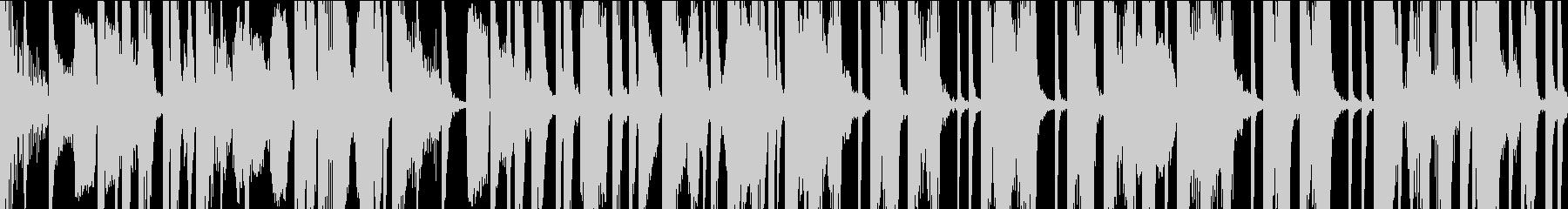 気怠気なボイパ ループの未再生の波形