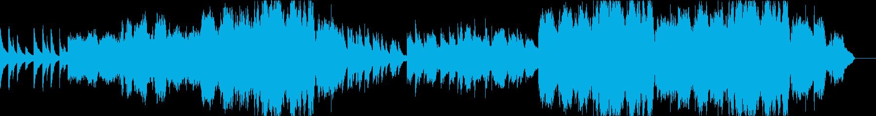 大切な人に贈る 感動系ピアノオーケストラの再生済みの波形