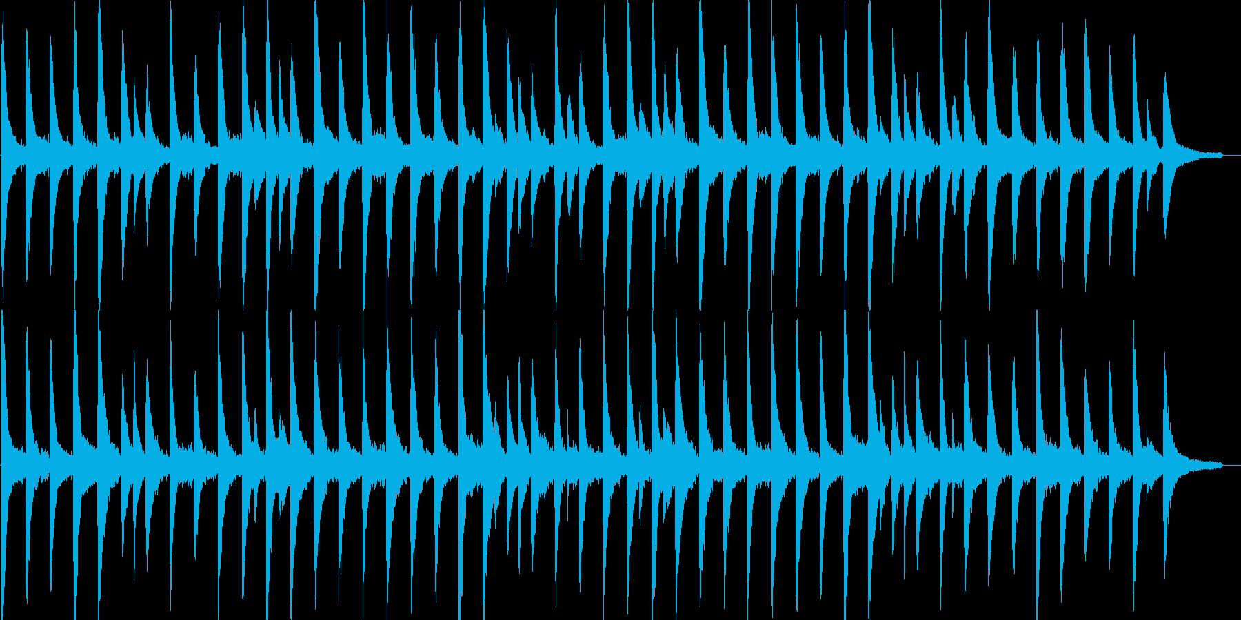 幻想的・優しい・ジャズ・映像・イベント用の再生済みの波形
