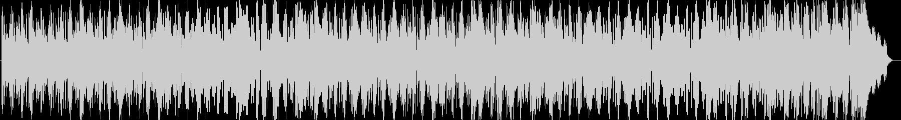 空間に放たれるタイコの一打が印象的な曲の未再生の波形