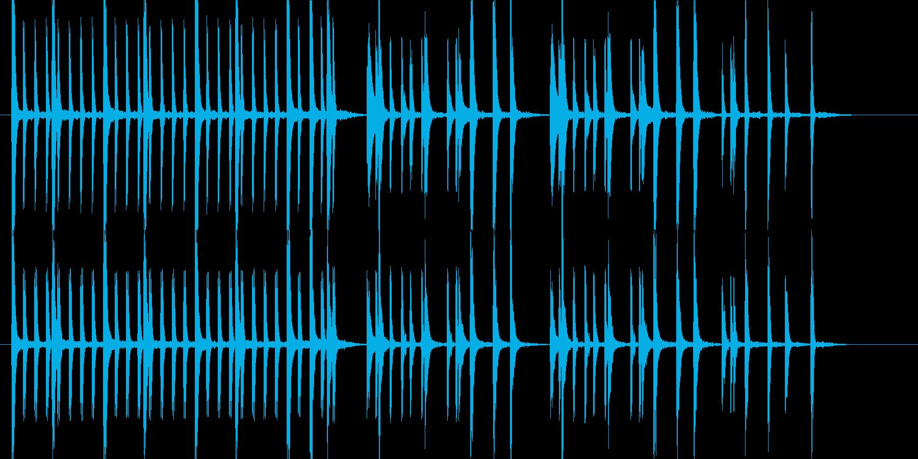 ほのぼの 日常の再生済みの波形