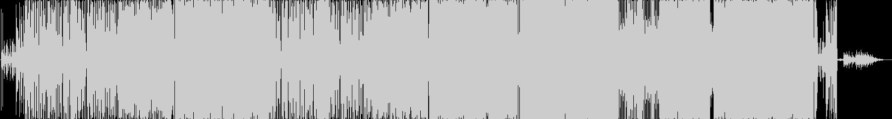 展開のある映像に合うギターロックの未再生の波形