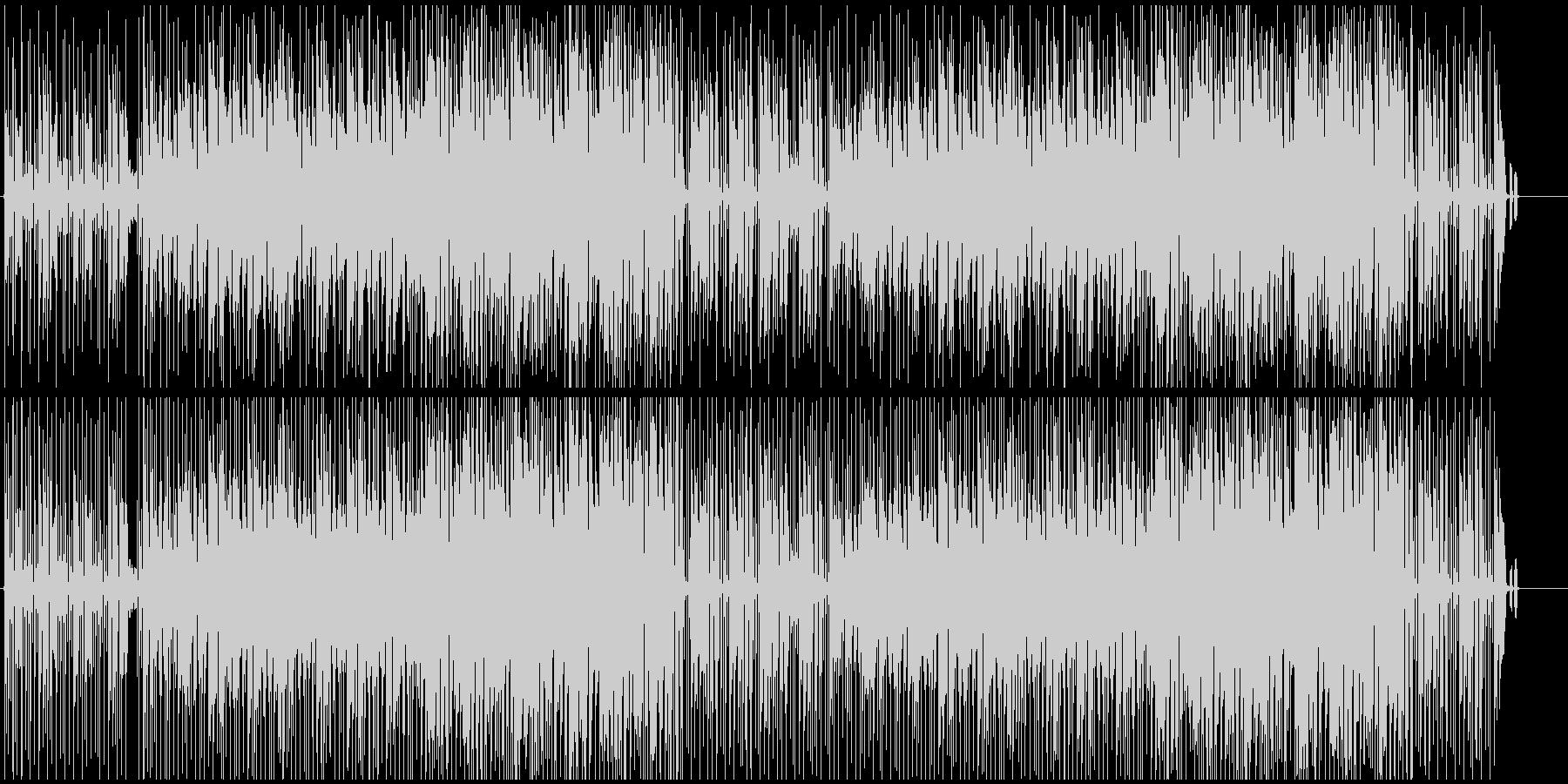 軽快なテンポの汎用性の高いボサノバです。の未再生の波形