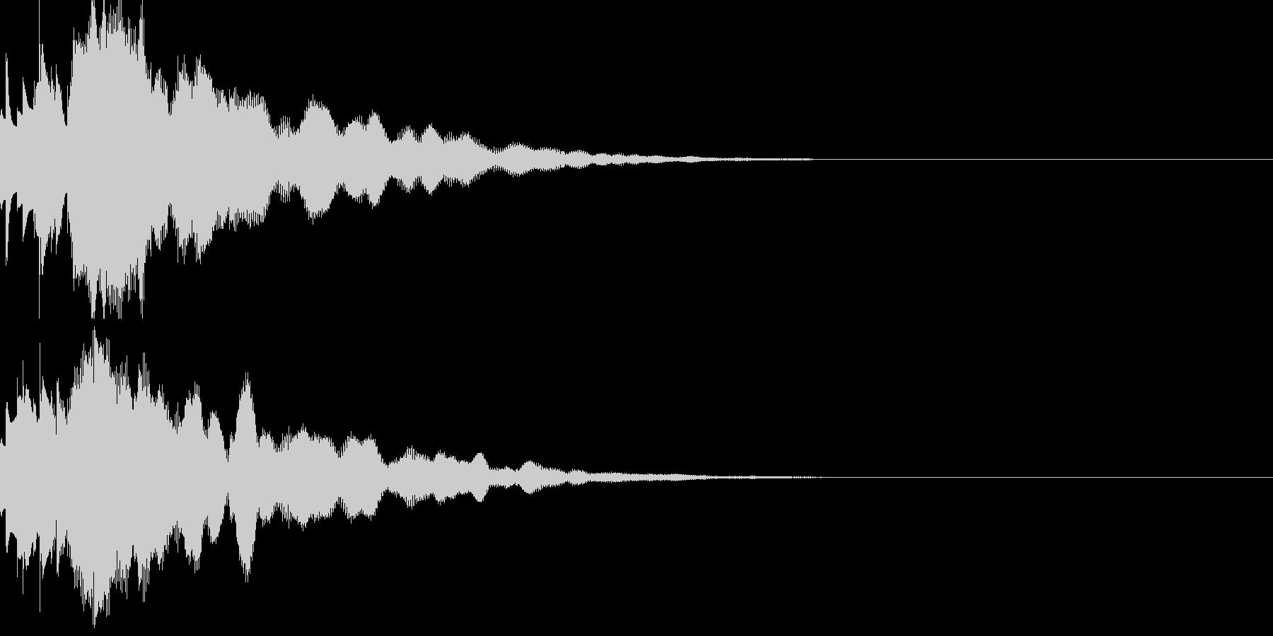 サウンドロゴ54の未再生の波形