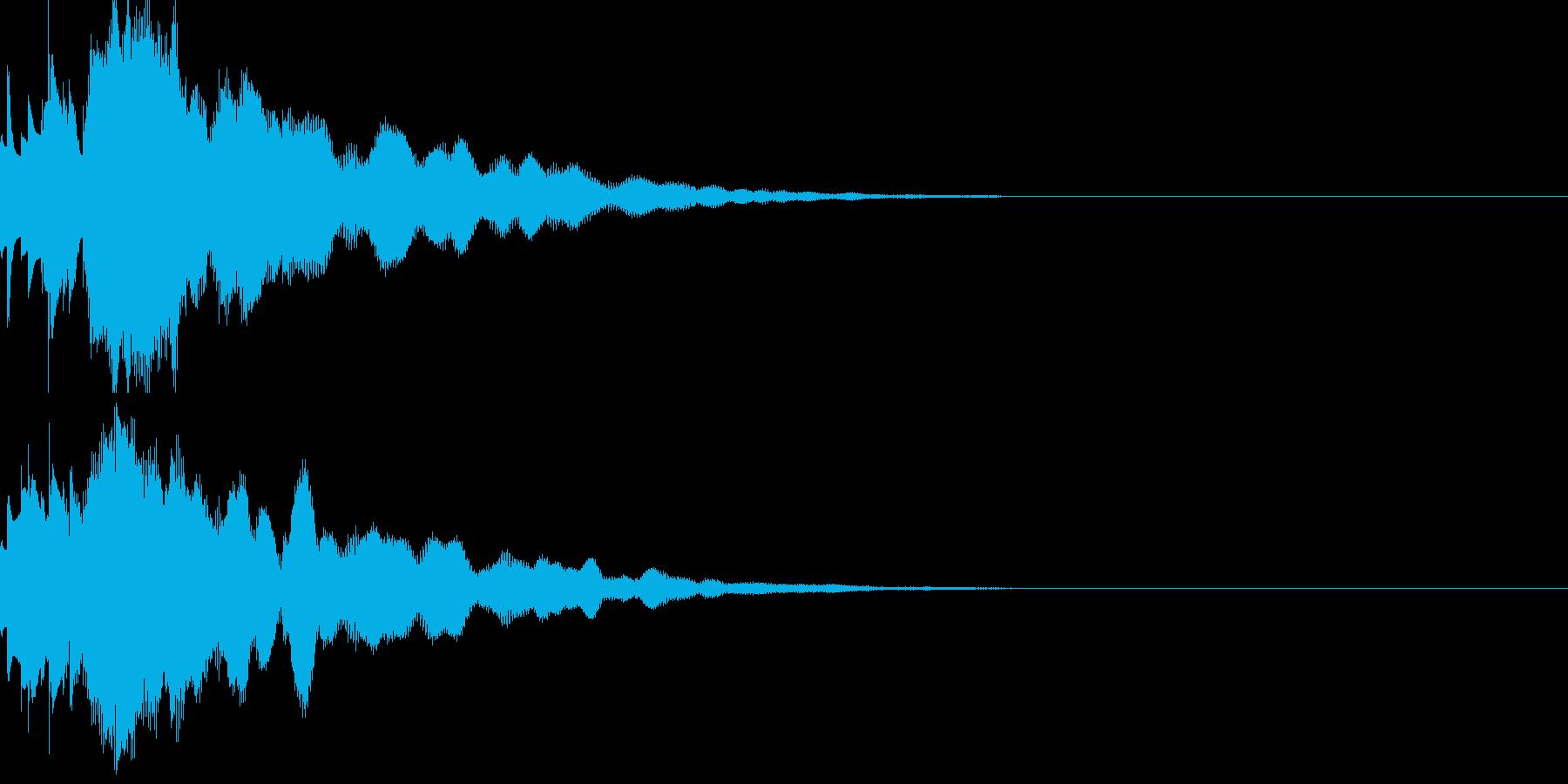 サウンドロゴ54の再生済みの波形
