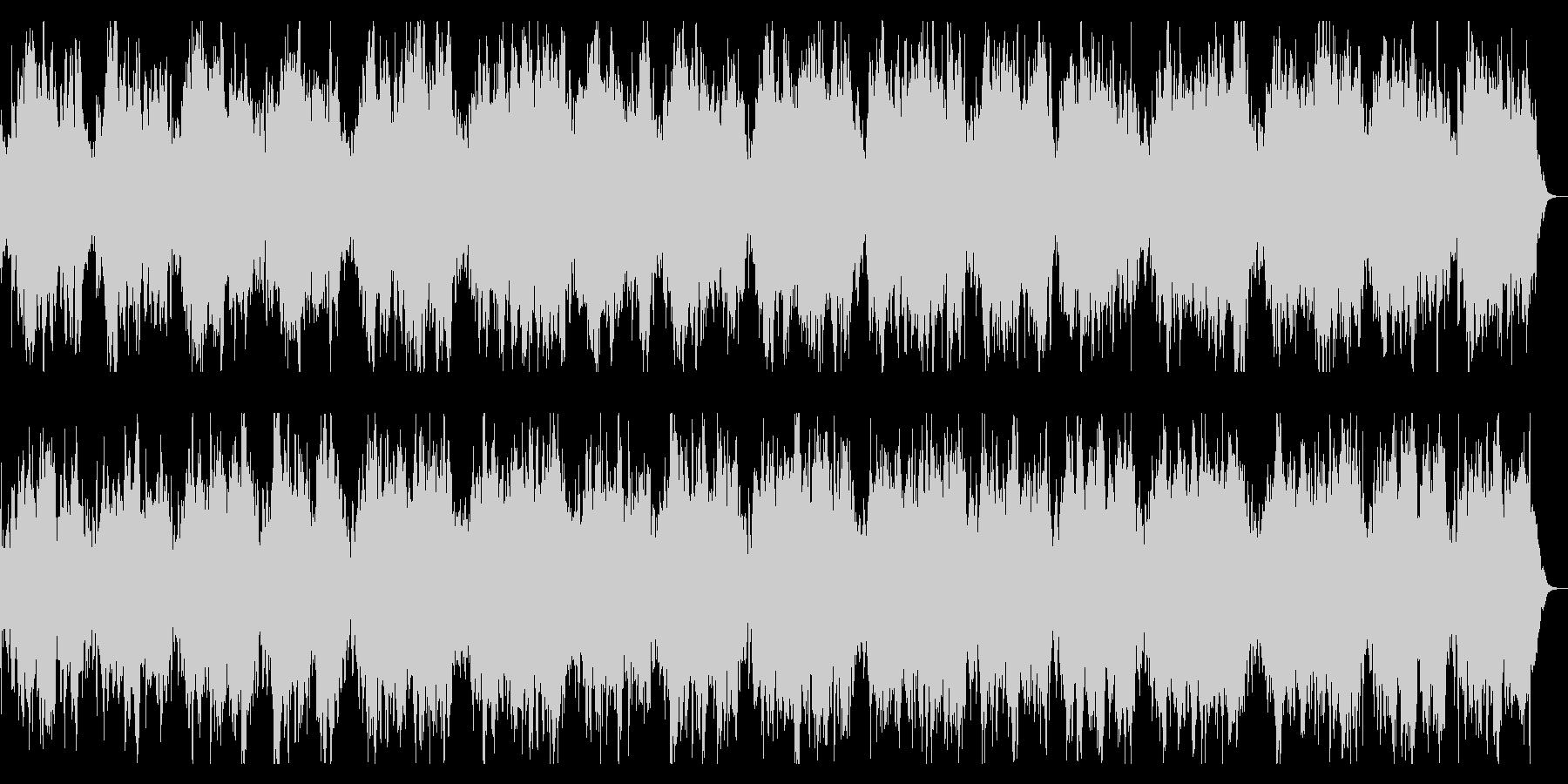 ダークで緩やかなBGM 恐怖感の演出の未再生の波形