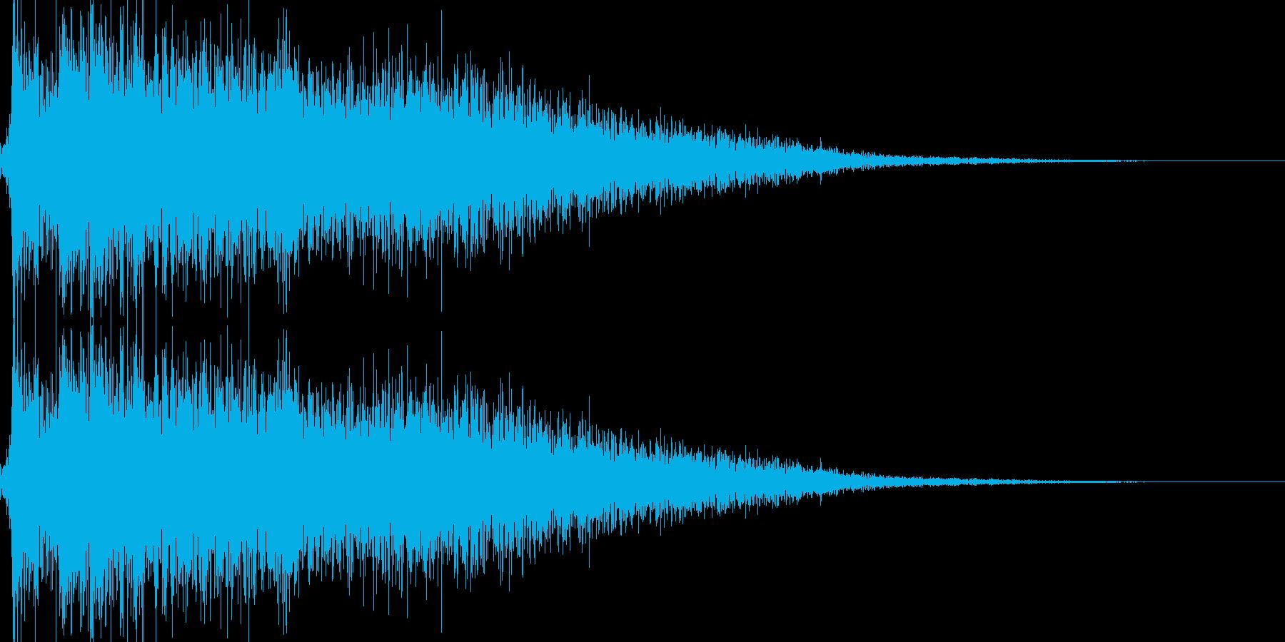ロボット足音 タイプ8の再生済みの波形