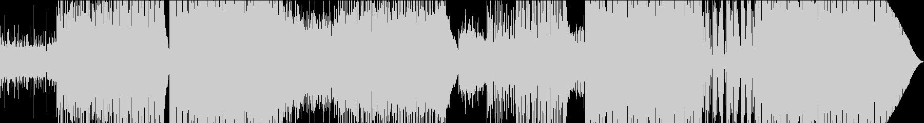 洋楽系ファンキーな女性ボイスのEDMの未再生の波形