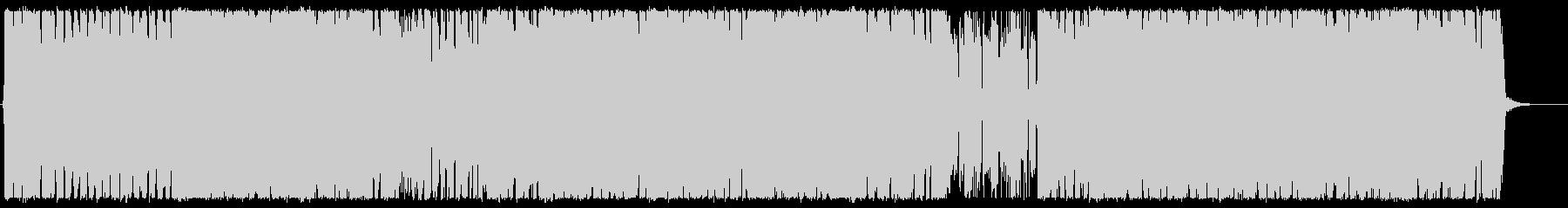 疾走感のあるJポップ系キーボードロックの未再生の波形