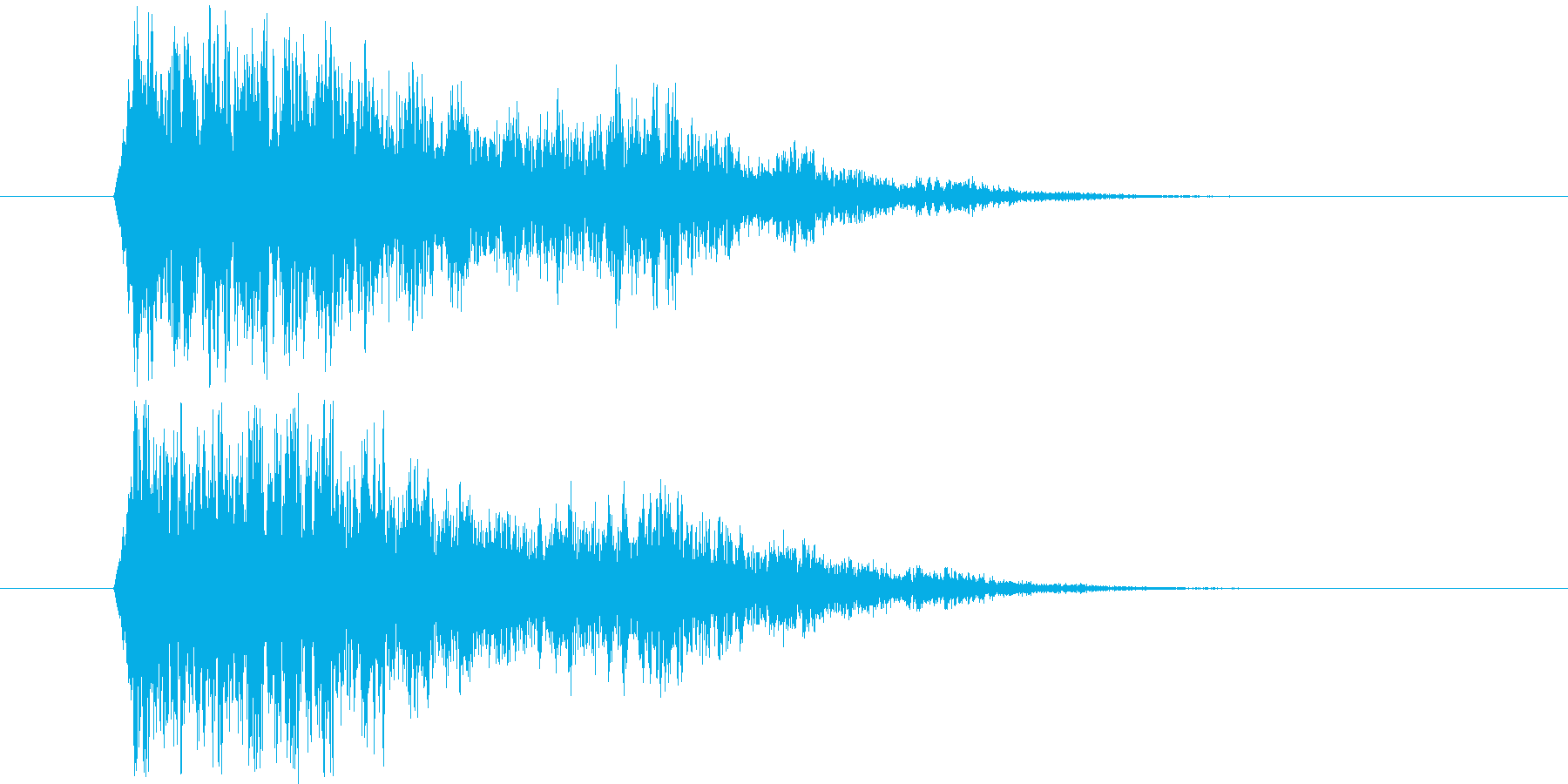 魔法効果_m0238の再生済みの波形