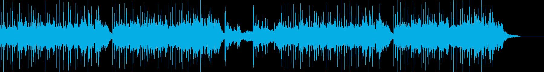 和風イメージ紹介用の再生済みの波形