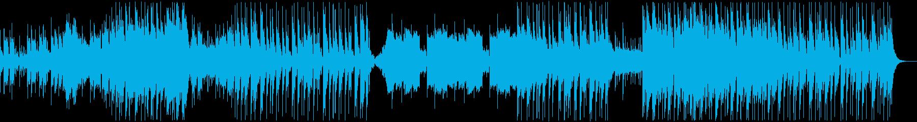 変則的なハイスピードインストの再生済みの波形
