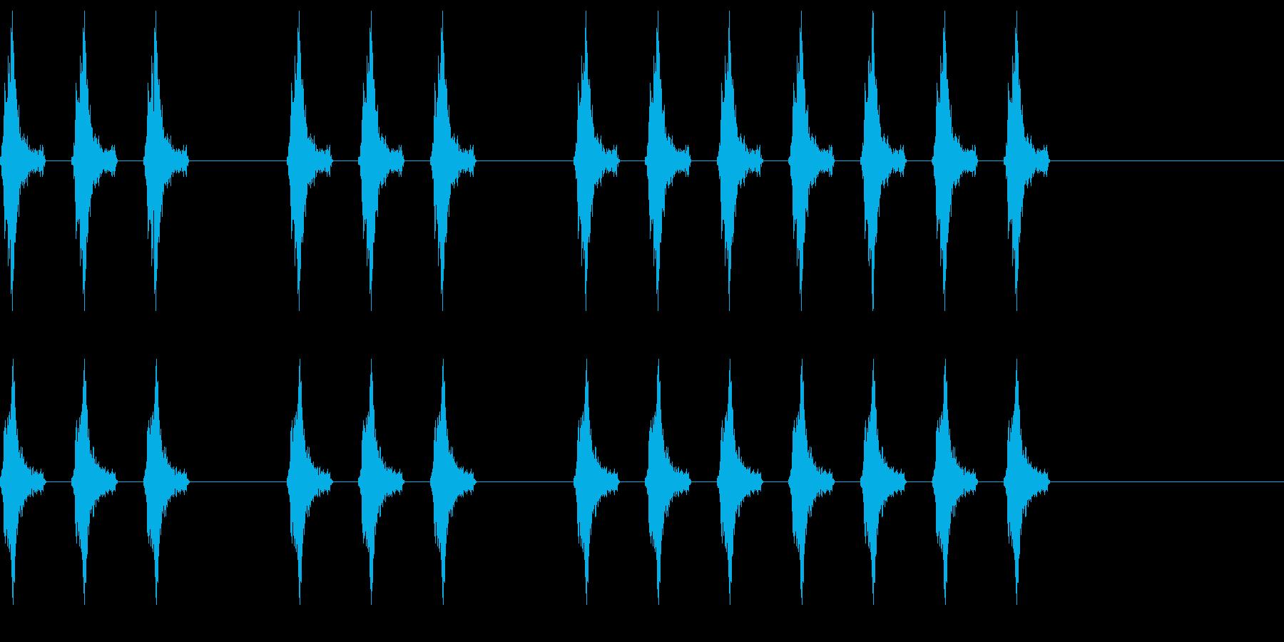 三三七拍子 その9 の再生済みの波形